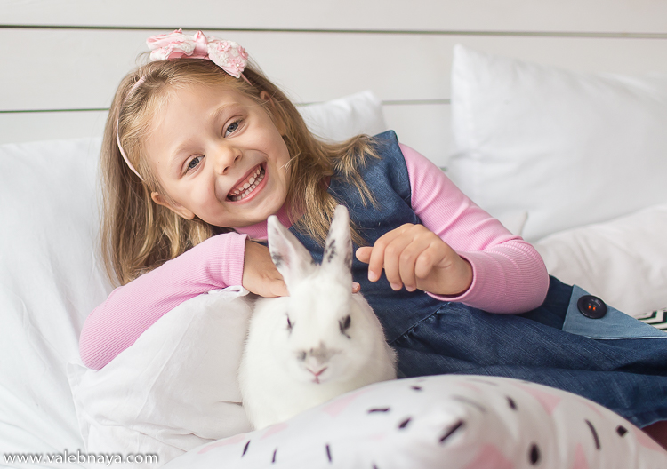 В гостях у кролика
